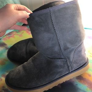 Ugg Shoes Boots With Side Buckle And Hidden Pocket